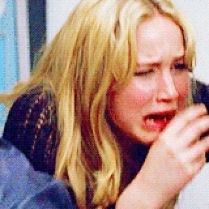 jennifer lawrence crying sobbing gif