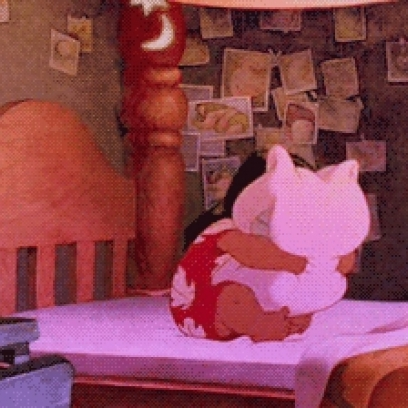 Boo Is Really Tired In Monsters Inc Gif