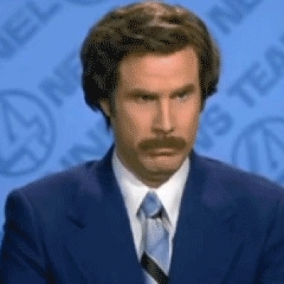 Ron Burgundy Doesn t Believe Anchorman Gif I Dont Believe You
