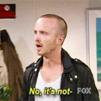 Aaron paul disagrees in breaking bad the office crossover