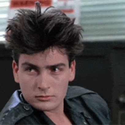 Young confused charlie sheen in ferris buellers day off thecheapjerseys Images