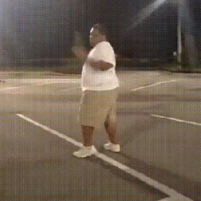 Fat Black Man Dancing