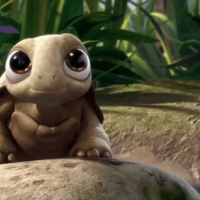 Cute Turtle Face Reaction Gif In Tinkerbell And The Pixie Hollow Games