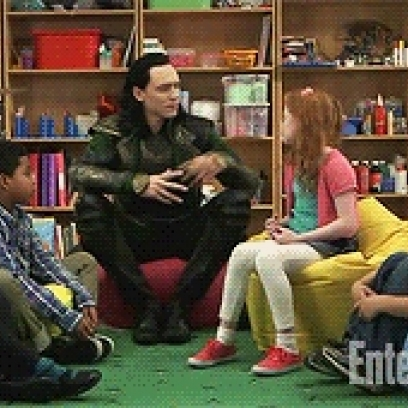 Angry Tom Hiddleston Pushes Down Some Punk Kids