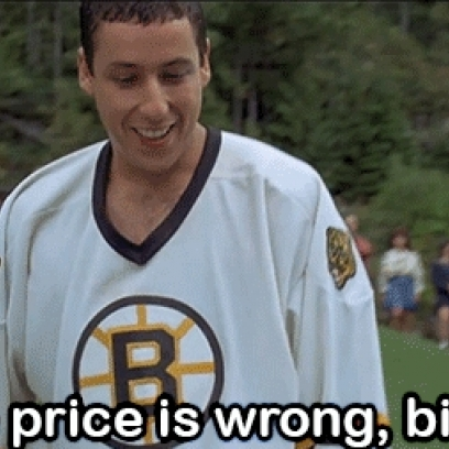 Happy Gilmore Quotes The Price Is Wrong Quote In Adam Sandler's Happy Gilmore Happy Gilmore Quotes